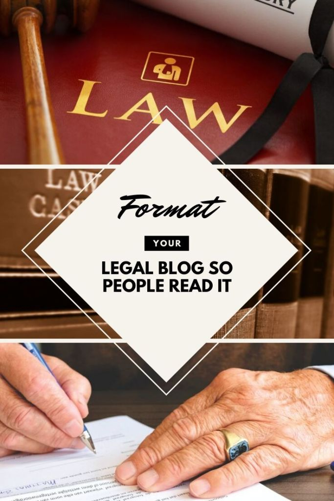 Format your legal blog so people will actually read it. #legalblog #lawblog #blogging #lawyer