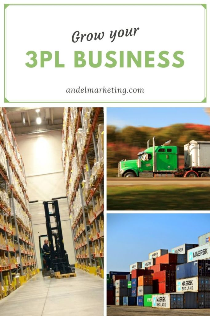 You need to start using these 6 content marketing ideas to grow your 3pl business #logistics #3pl #marketing #contentmarketing