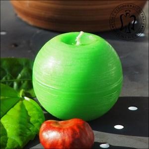 Zelená koule, Andělská svíčkárna, e-shop, výrobce svíček, Green ball, candle, supplier, Angels candles, 04