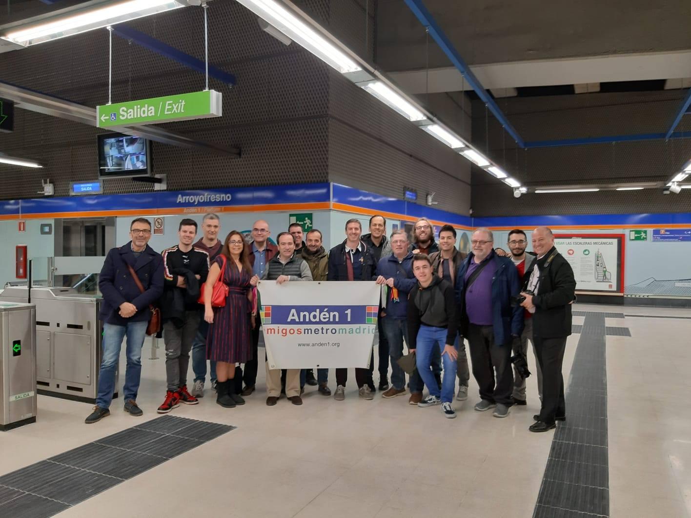 Apertura de la nueva estación de Arroyofresno