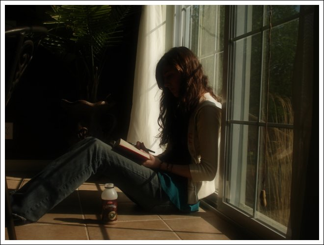 Sal con una chica que lea