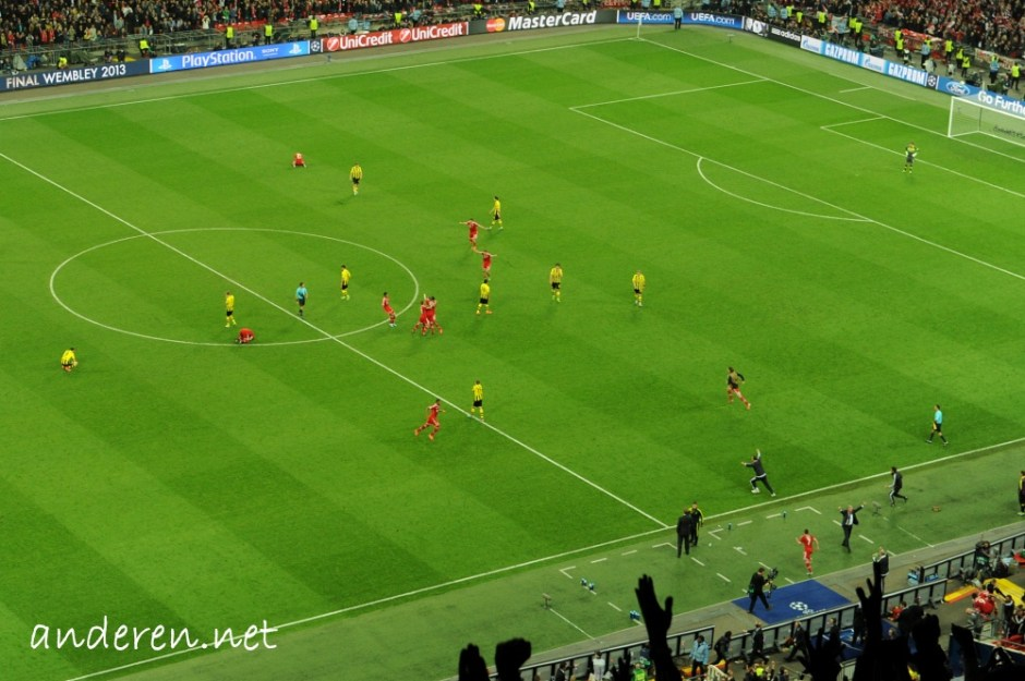 UEFA Champions League Final 2013 - Borussia Dortmund vs FC Bayern