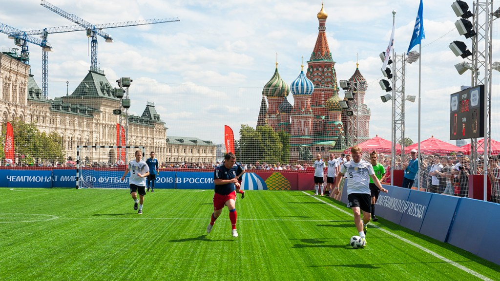 Red Square, Moscow, Russia, World Cup 2018, Projekt Anderen