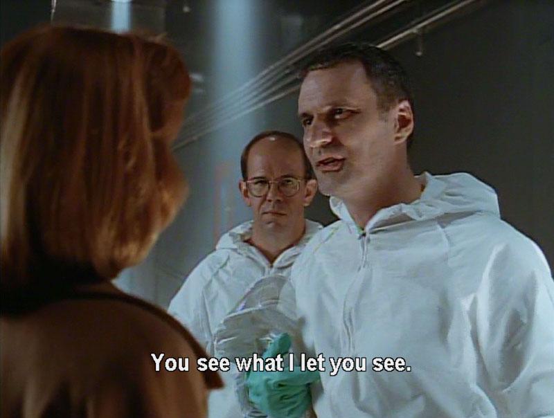 F. Emasculata, The X-Files Season 2, 2X22