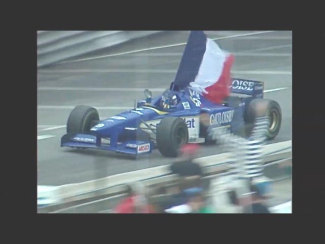 Olivier Panis won his only F1GP victory, Formula 1 1996 Monaco Grand Prix. , 班尼斯, 1996年一級方程式摩納哥站