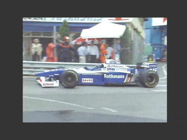 Damon Hill, Formula 1 1996 Monaco Grand Prix, 希爾, 1996年一級方程式摩納哥站