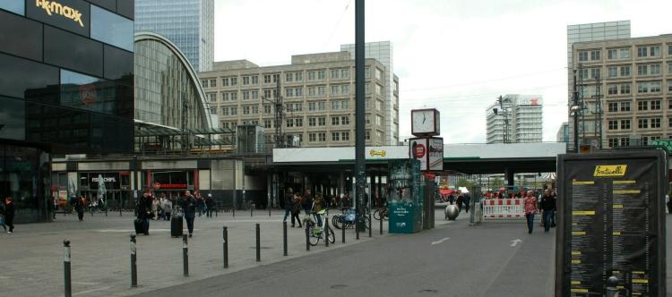 Der Alexanderplatz ohne Königsbrücke und Königskolonnaden