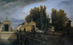 7. Königsbrücke und Königskolonnaden 1835.