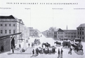 6. Der Alexanderplatz im Jahr 1830