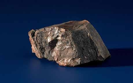 A piece of moon rock was given to Holland during a goodwill tour by the three apollo 11 astronauts. It turned out to be composed of petrified wood. Image courtesy of Getty Images