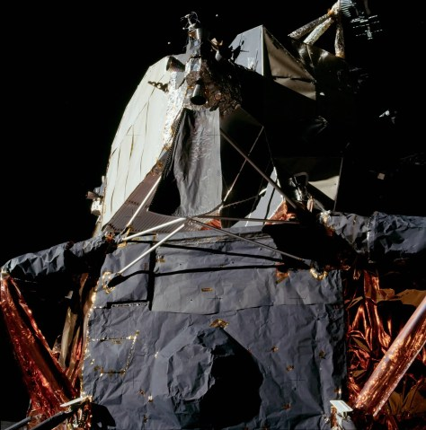 Apollo 11 Lunar Module, 1969. Image Courtesy of NASA (AS11-40-5922)