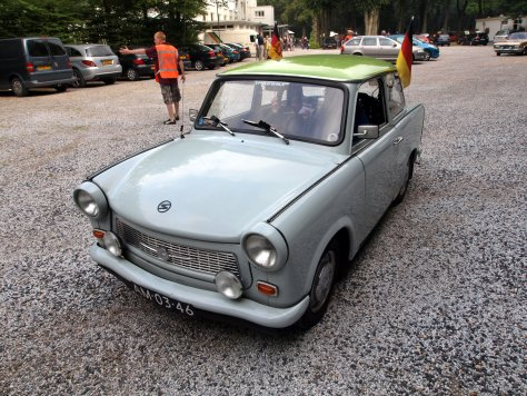 Trabant P601, 1969. Image Courtesy of Wikimedia Commons