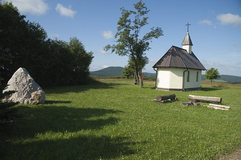 die Herz-Maria-Kapelle bei Wershofen, Aremberg, Ahrtal, entspannen, oberes Ahrtal