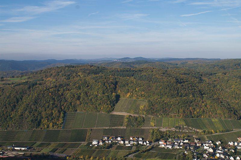 Erhabener Anblick: Weit schweift der Blick vom Krausbergturm