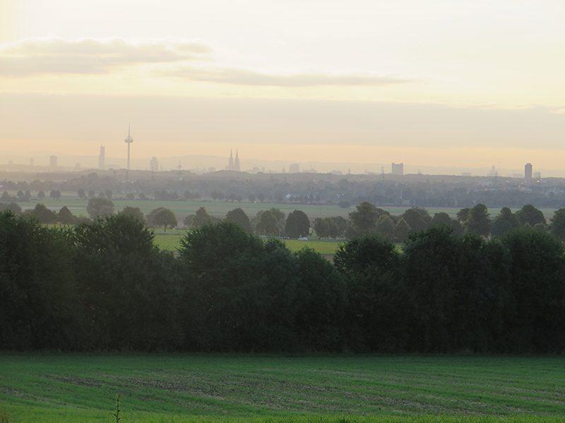 Frühaufsteher, Glessener Höhe, Rheinbraun, Braunkohle, Römer, Römerstraße, Gipfelkreuz, Panorama, Köln, Brauweiler