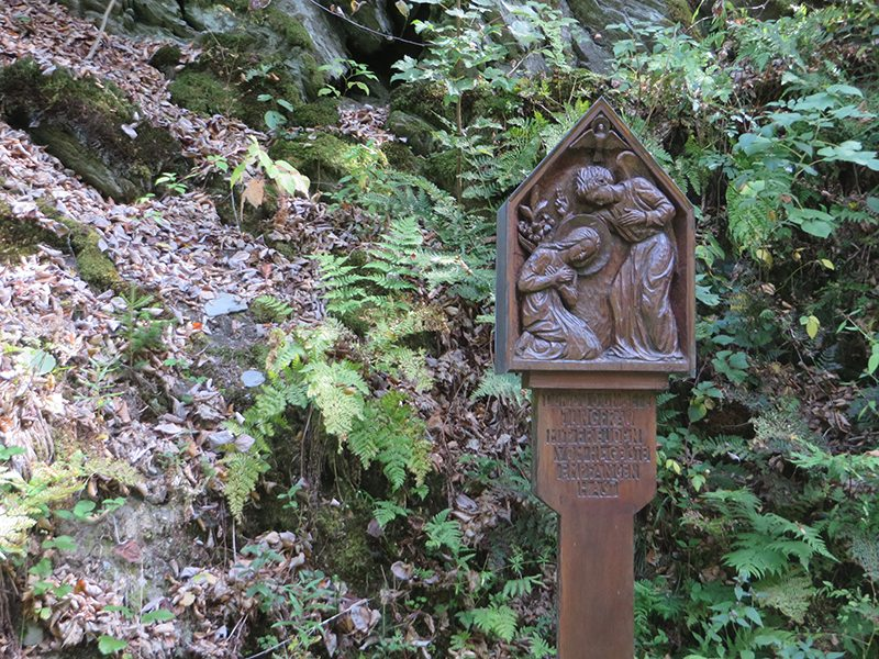 Eine Stationen auf dem Weg der Freuden Mariens