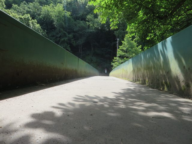Schließlich führt die neue Ahrsteigetappe 5 auf der Brücke über die Ahr hinüber (Foto: Hans-Joachim Schneider)