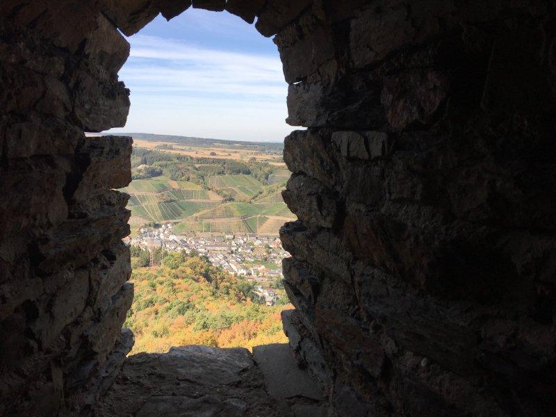Turm, Fenster, Scharte, Weitblick