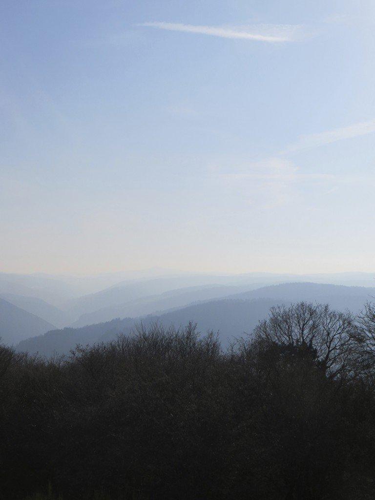 Steinerberg Panorama im Herbst