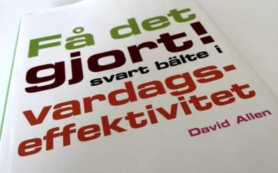 """""""Mer gjort"""" är en bieffekt av att få """"rätt gjort"""" – så har GTD hjälpt mig"""