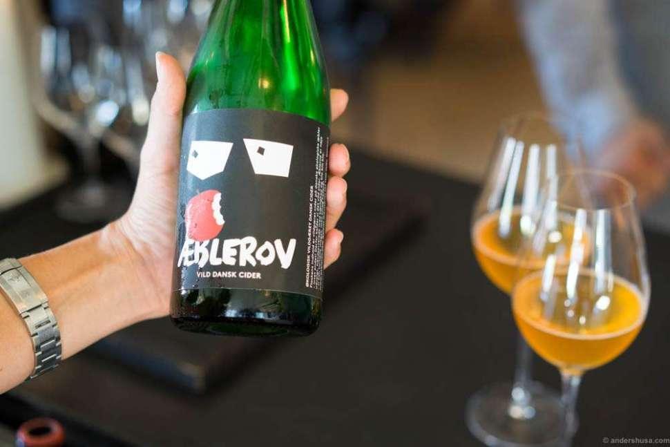 Æblerov! We got this beautiful cider all over Copenhagen
