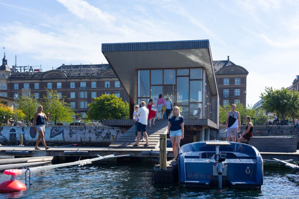 Look for this tiny boathouse