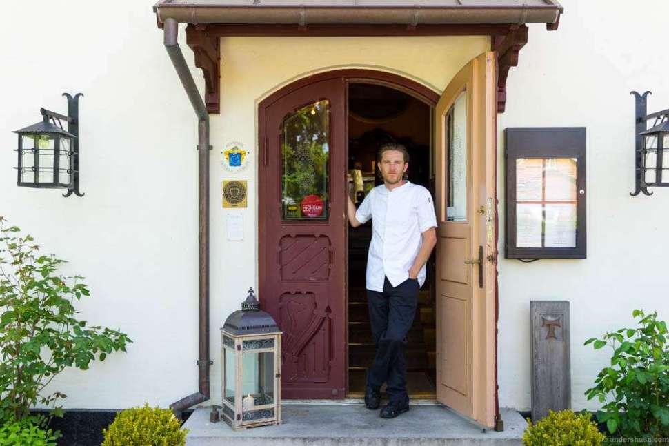 Head chef Jonas Mikkelsen