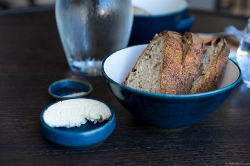 The sourdough bread is just as good, and probably the same, as at Noma
