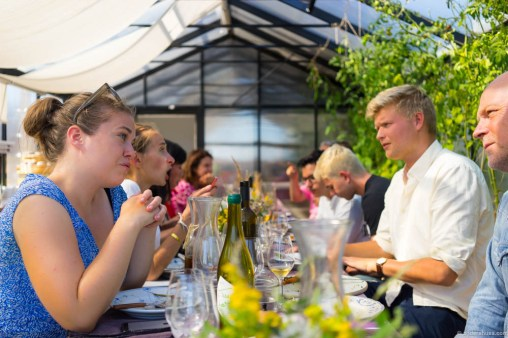 A social dinner is a great way to meet new people