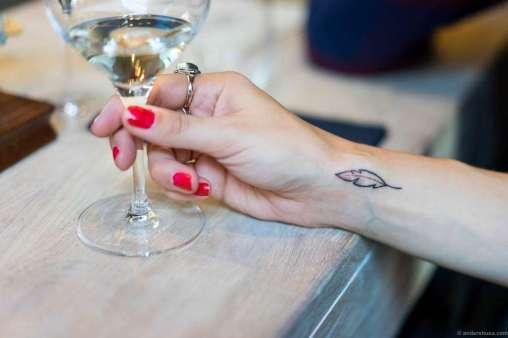 Fresh ink on the Esra tattoo
