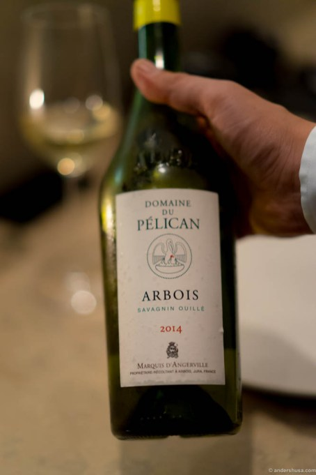 2014 Domaine du Pelican, Arbois Savagnin from Jura