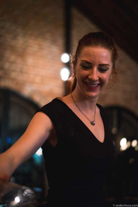 Restaurant manager and head sommelier Ragnhild Wright Ousland