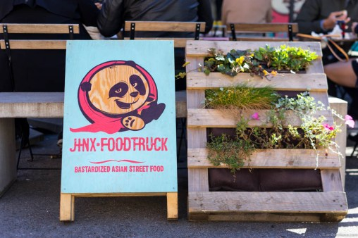 Jinx food truck – bastardized Asian street food