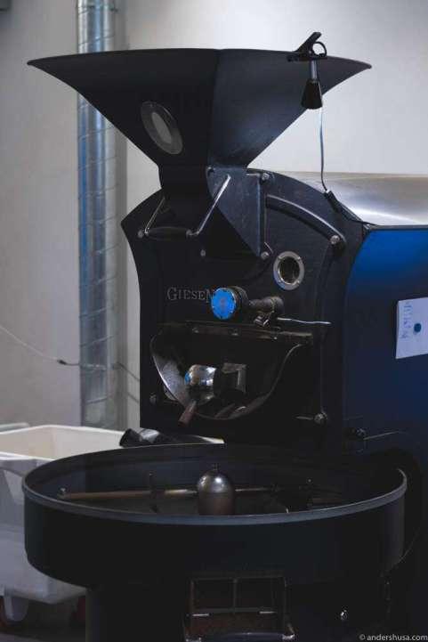 The Giesen W15 Coffee Roaster