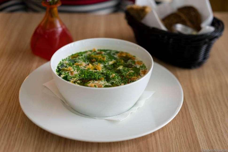 The famous fish soup