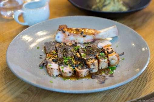 Veal chops & truffle