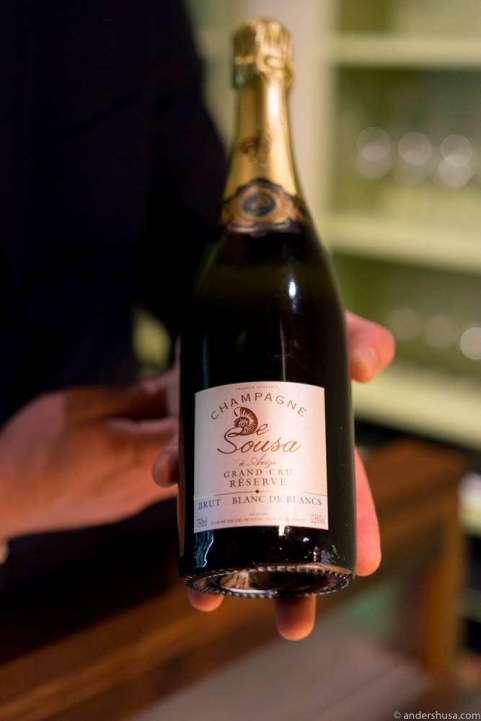 Champagne de Sousa Grand Cru Reserve Blanc de Blancs