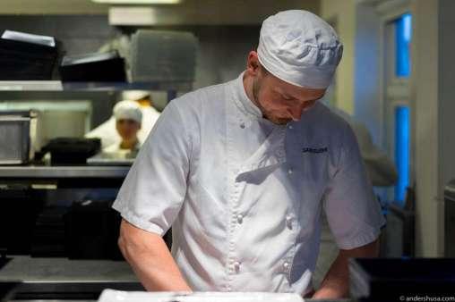 Sushi chef Arturas Novickis