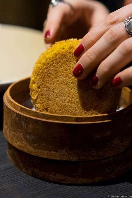 Safran cake