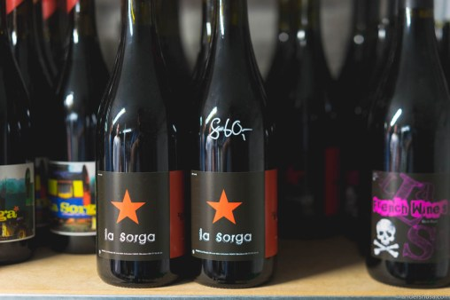 La Sorga wines discovered on a tour of the kitchen
