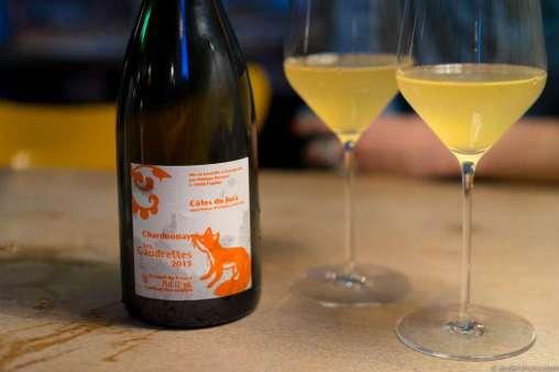 2015 Annie et Philippe Bornard, Les Gaudrettes, Chardonnay, Côtes du Jura, France.