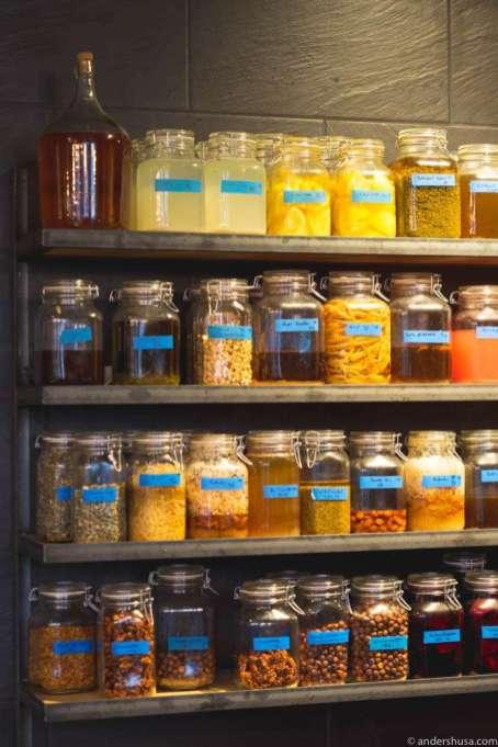 The fermentation lab