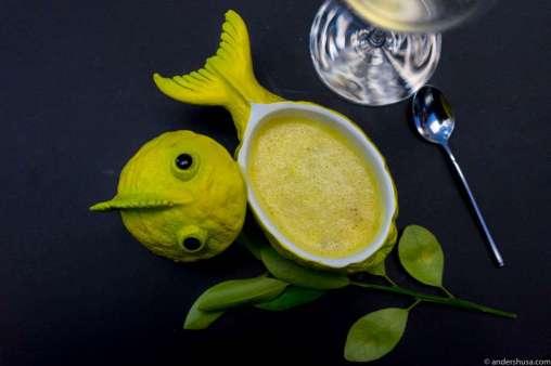 Yes, lemonfish soup!