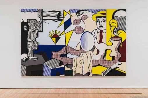 Roy Lichtenstein – Figures with Sunset
