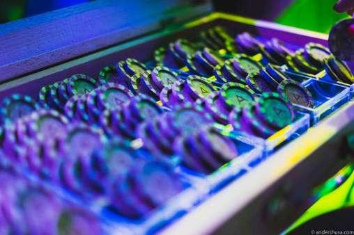 Casino chocolate chips