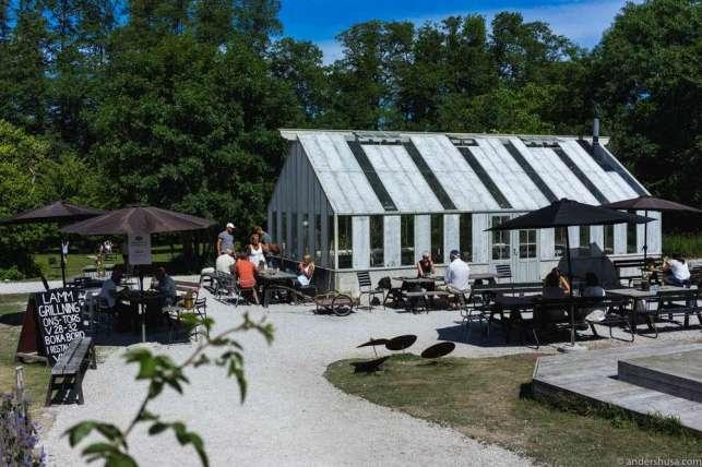 The backyard of Leva Kungslador