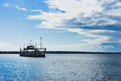 The ferry to Fårö