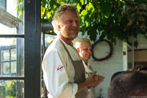 Head chef Kim Wiuff