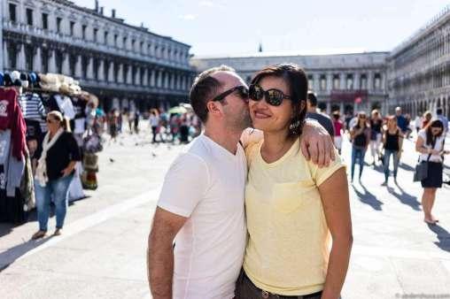 True romance at Piazza San Marco