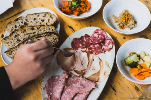 Charcuterie from Bæst